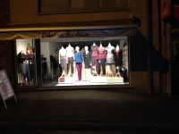 Etalageverlichting bij Odessa